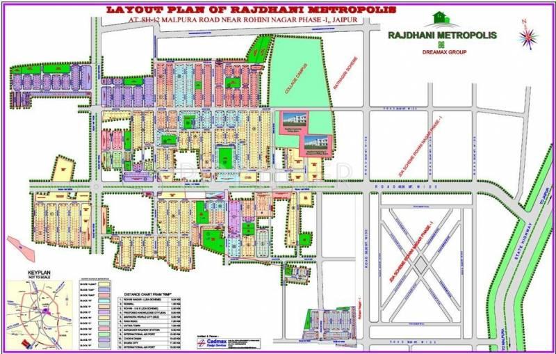 Images for Layout Plan of Dreamax Rajdhani Metropolis