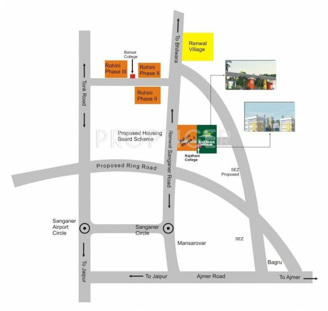 Images for Location Plan of Dreamax Rajdhani Metropolis