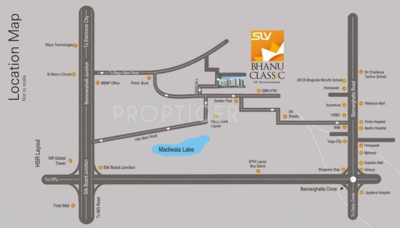 Images for Location Plan of PNR SLV Bhanu Classic