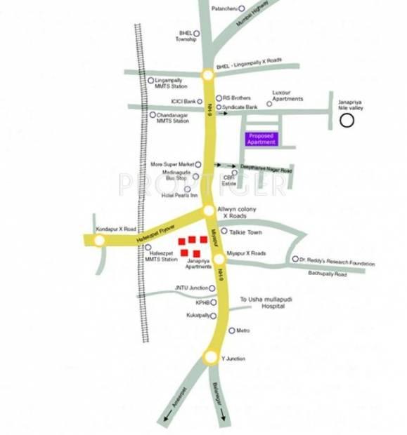 Images for Location Plan of Amulya Amulya Fortune