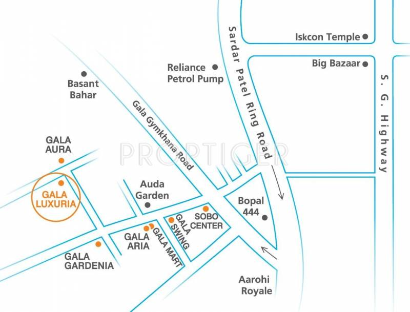 Images for Location Plan of Gala Luxuria