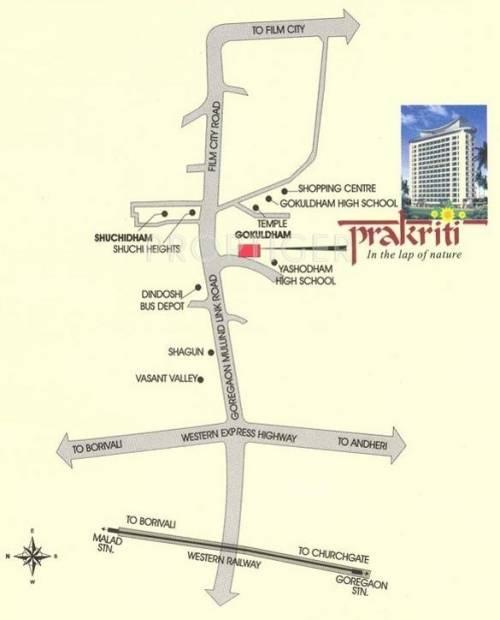Images for Location Plan of Ashish Estates Prakriti