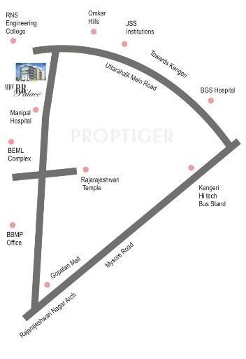 MDVR RR Palace Location Plan