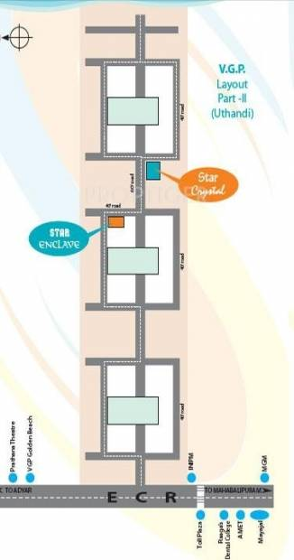 Images for Location Plan of Star Property Star Crystal