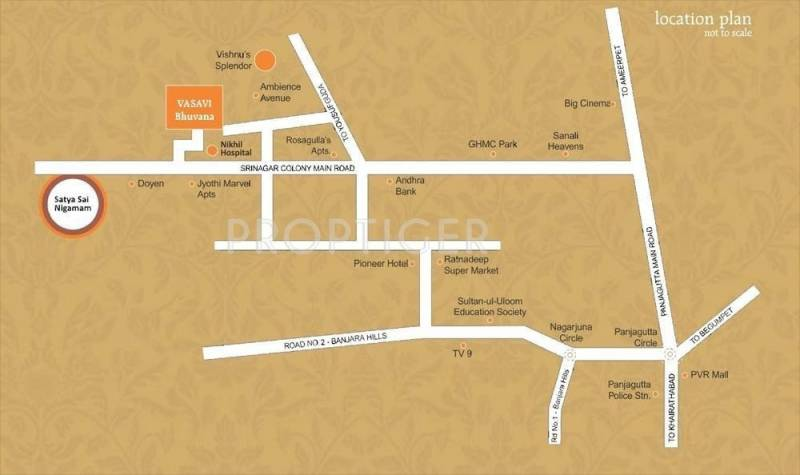 bhuvana Location Plan