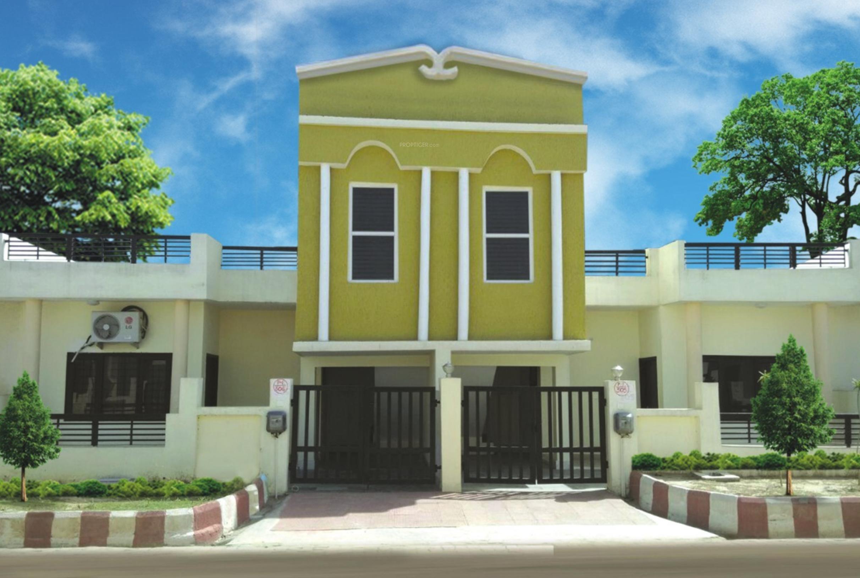 Resort Elevation Plan : Main elevation image of pushpanjali vaidik resort unit