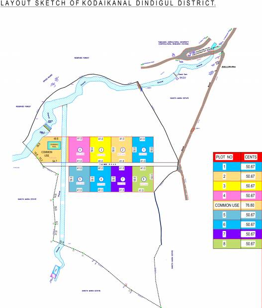 Images for Master Plan of Palani Hills