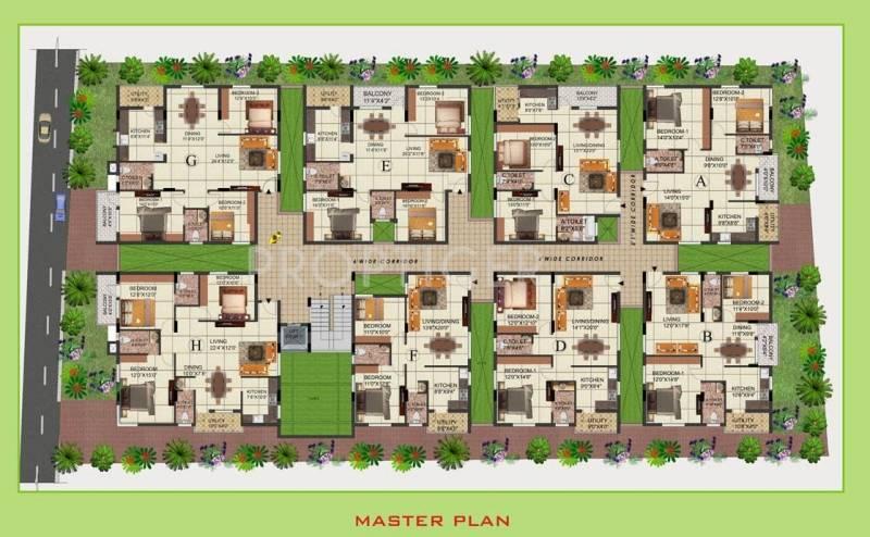 Images for Cluster Plan of SVR Constructions Agasthya