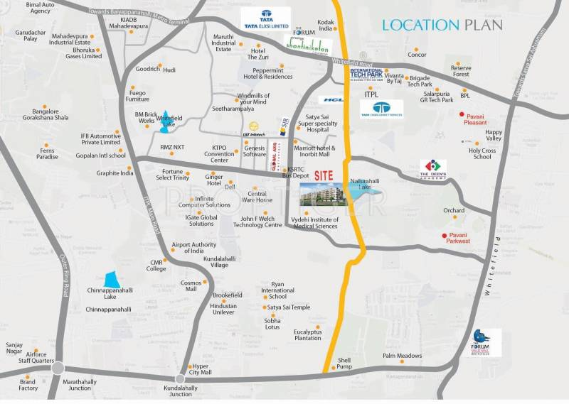 sarovar-phase-1 Images for Location Plan of Pavani Sarovar Phase 1