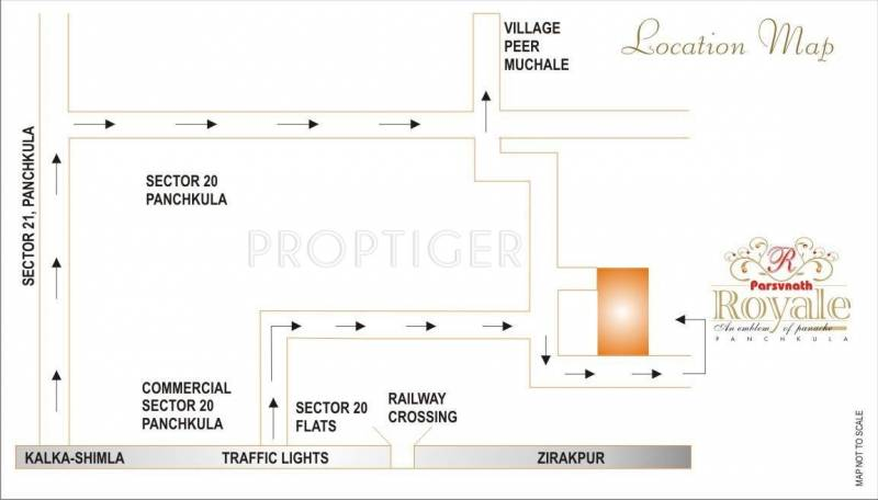 Images for Location Plan of Parsvnath Royale