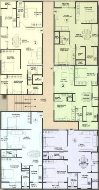 Images for Cluster Plan of Aaradhana SR Brindavana