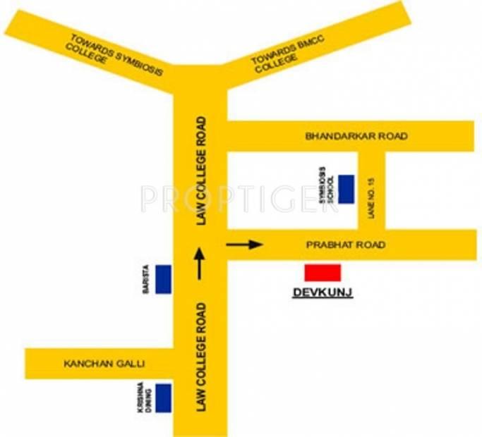 Images for Location Plan of Pandit Javdekar Constructions Devkunj