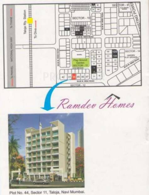 Solanki Homes Ramdev Homes Location Plan