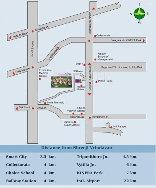 Images for Location Plan of Shreeji Vrindavan Garden