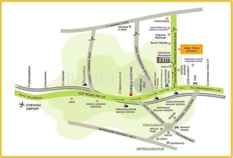 Images for Location Plan of SUCCESS PROPERTY ENTERPRISES Lake Town Avenue