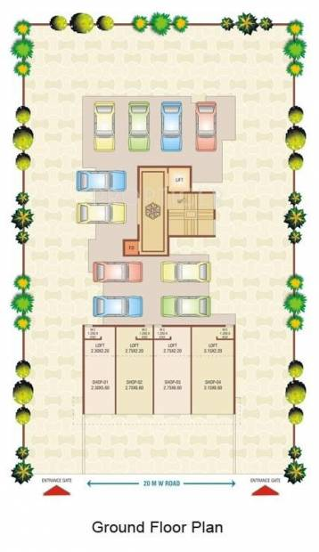 Images for Cluster Plan of Shreeji Group Builders And Developers Shreeji Solitaire