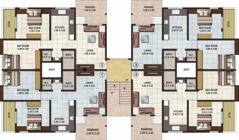 Images for Cluster Plan of Deepak Panchdeep Renuka Mata Housing Society