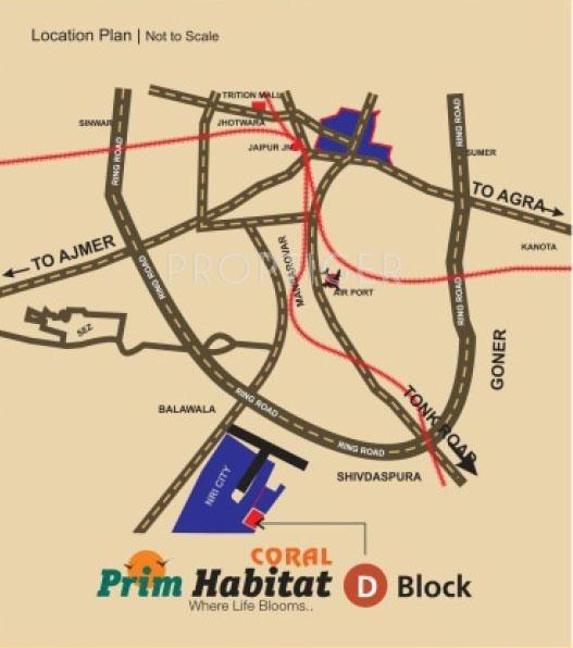 Images for Location Plan of Coral Prim Habitat