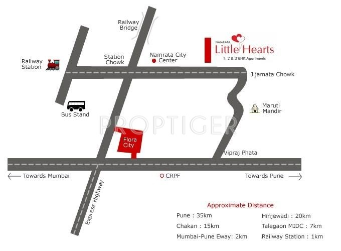 little-hearts Images for Location Plan of Namrata Group Little Hearts