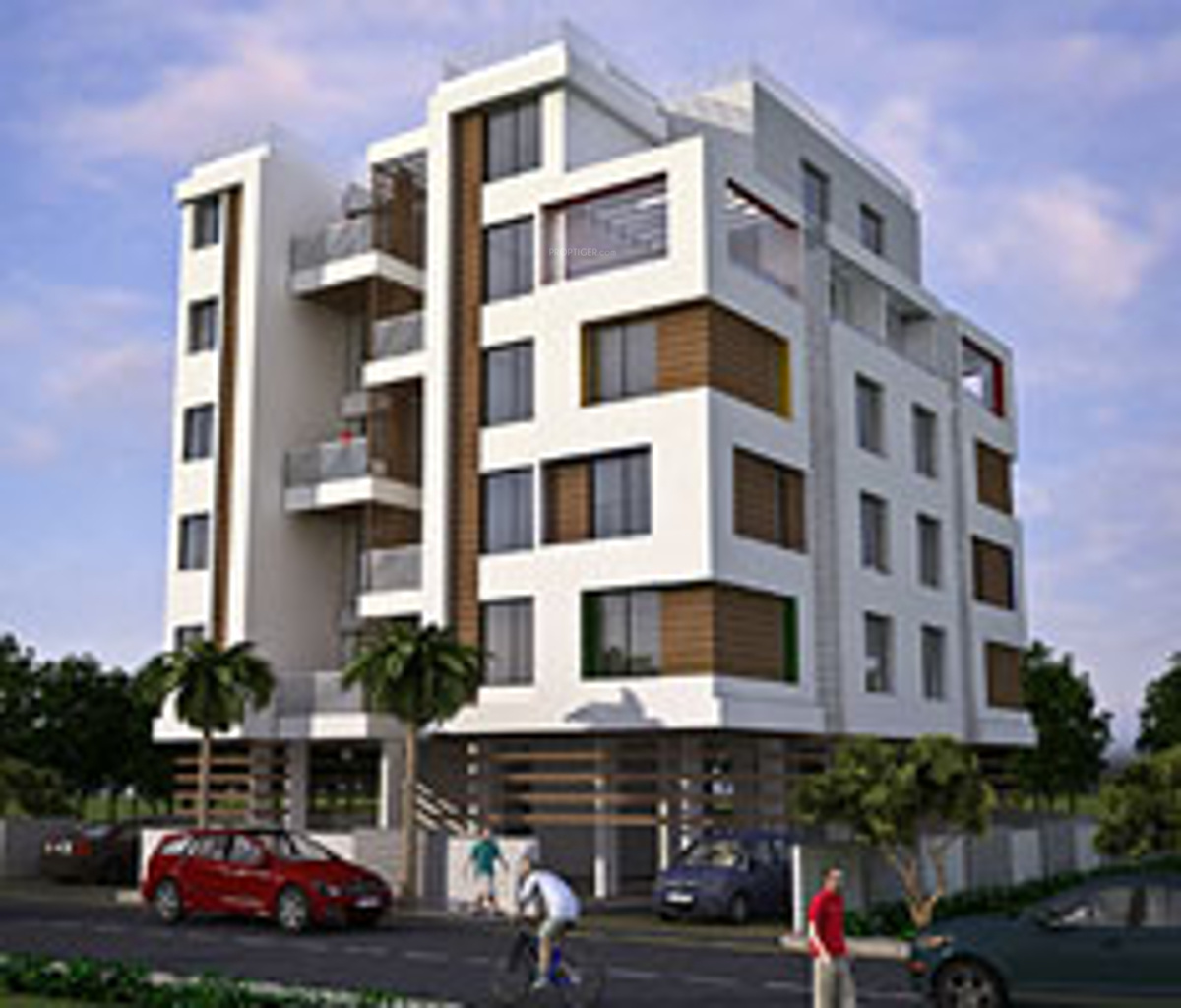 Apartment Price: Kale Joshi Realtors Koyna Apartment In Kothrud, Pune