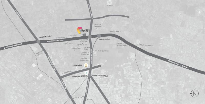 Images for Location Plan of Laxmi Sky City