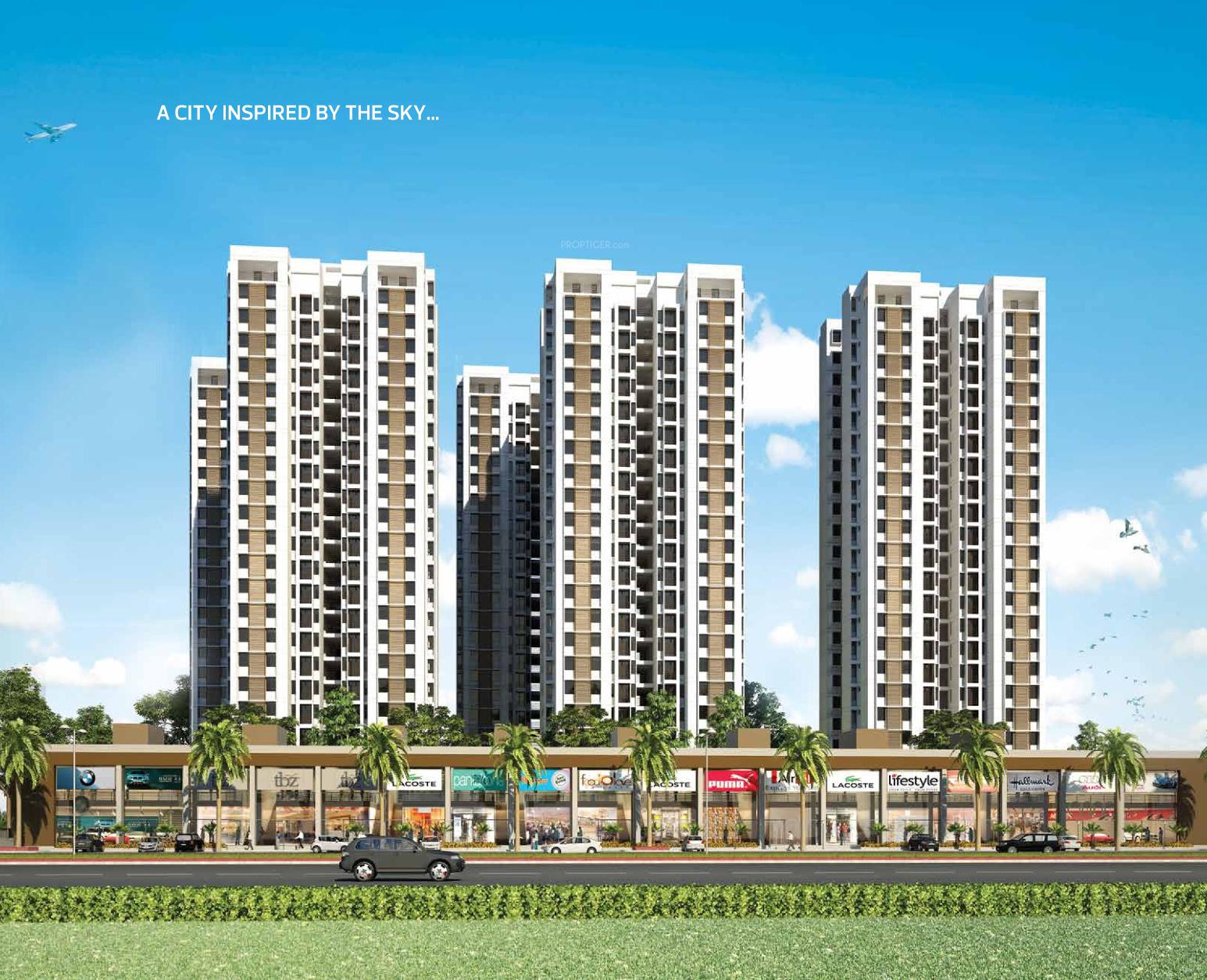 Laxmi Sky City in Nava Naroda, Ahmedabad - Price, Location