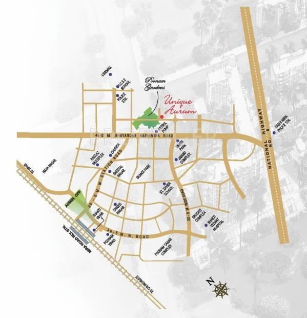 aurum Images for Location Plan of Unique Unique Aurum