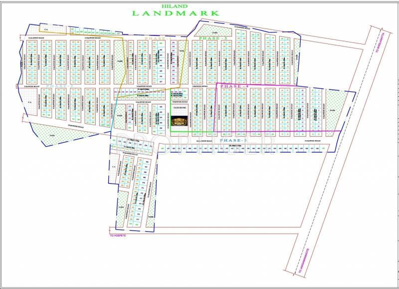 Images for Site Plan of Hiland Landmark