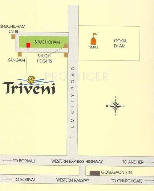 Images for Location Plan of Ashish Estates Triveni