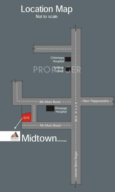 midtown Images for Location Plan of VRR Midtown