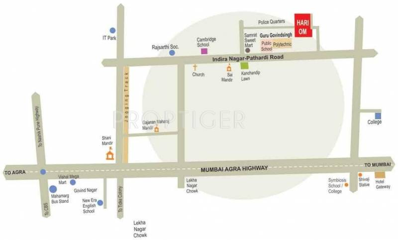 Images for Location Plan of Karda Hari Om Residency