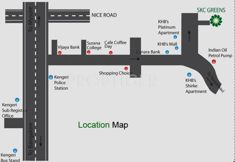 Images for Location Plan of Sri Krishna Constructions India SKC Greens