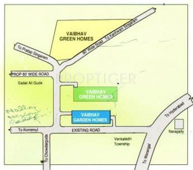 Images for Location Plan of VSR Vaibhav Garden Homes