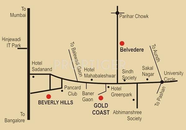 Rachana Lifestyle Gold Coast Location Plan