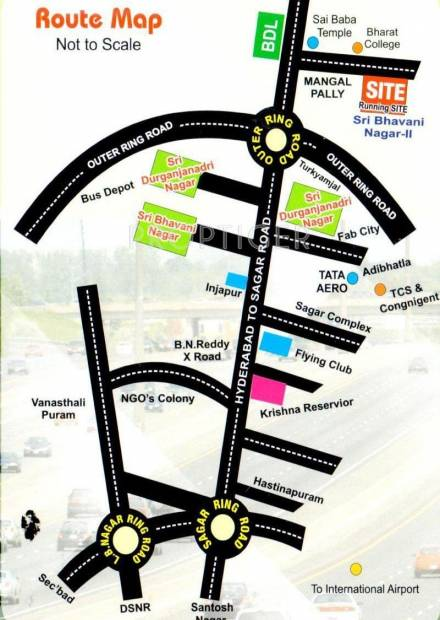 Images for Location Plan of Akshaya Bhavani Puram II