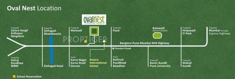 Images for Location Plan of SRK Developers Ovalnest