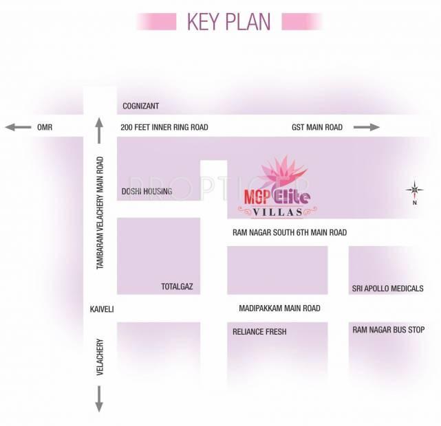 Images for Location Plan of MGP Elite Villas