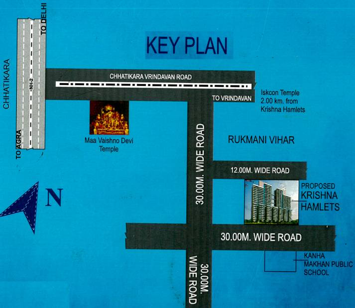 Images for Location Plan of Sino Krishna Hamlets