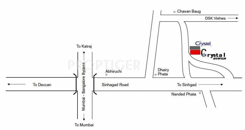 Images for Location Plan of Ghorpade Crystal Avenue
