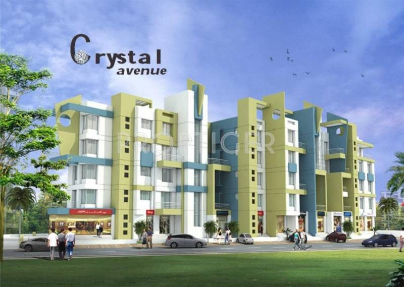 Images for Elevation of Ghorpade Crystal Avenue