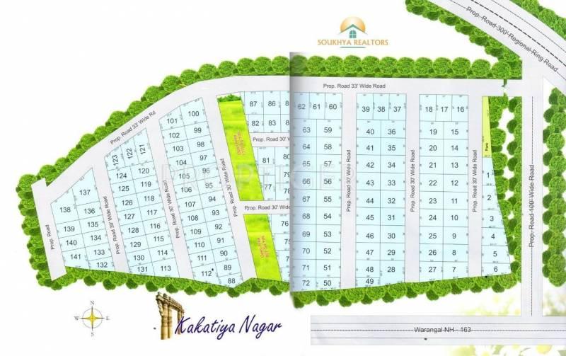 Images for Site Plan of Soukhya Kakatiya Nagar II