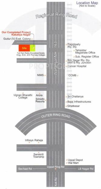 Images for Location Plan of Soukhya Kakatiya Nagar II