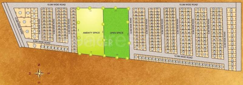 Images for Layout Plan of Excellence Aurum City