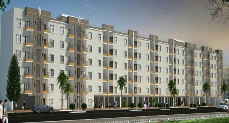 Images for Elevation of Rama Group Delhi Krishna Heights Apartments