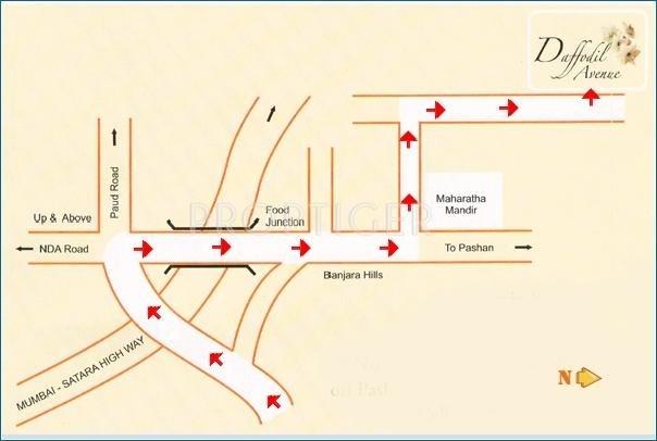 Mutha Group Daffodil Avenue Location Plan