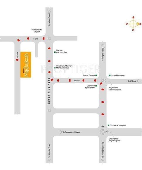 Images for Location Plan of Rachana Rachana Madhukosh Wing C