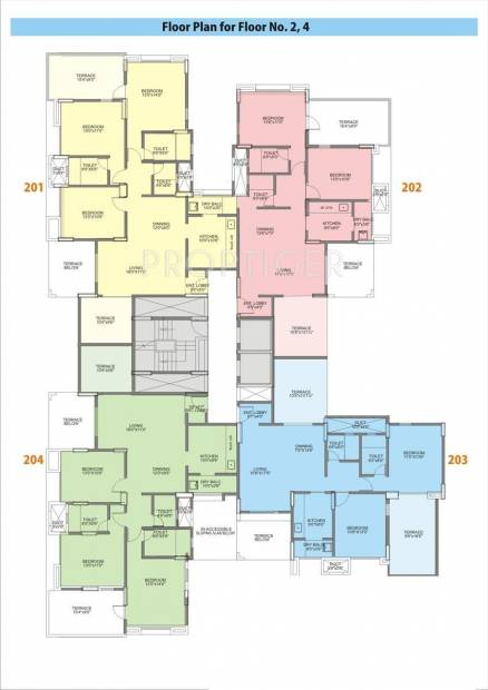 Images for Cluster Plan of J K Group Sahadeo Heights