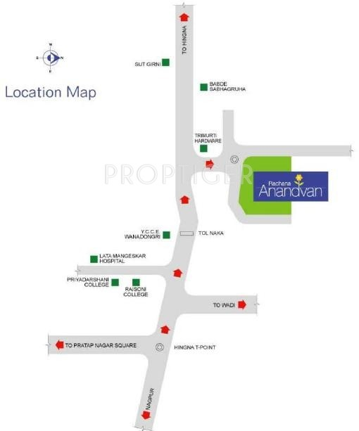 Images for Location Plan of Rachana Anandvan