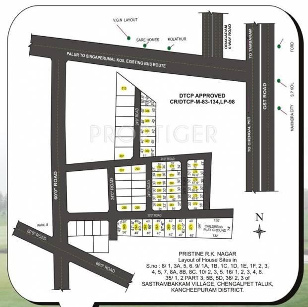 Images for Layout Plan of Pristine Ramakrishna Nagar