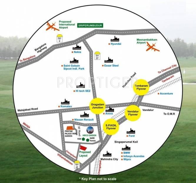 Images for Location Plan of Pristine Ramakrishna Nagar